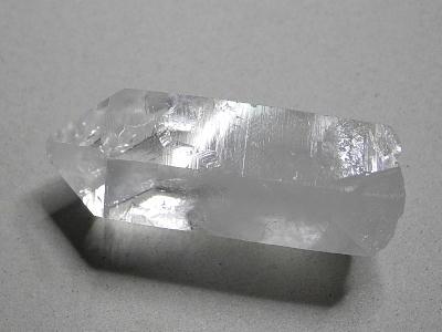 水晶ポイント成長線