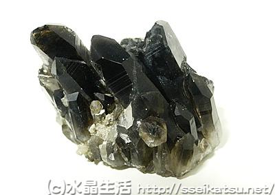 焼き黒水晶