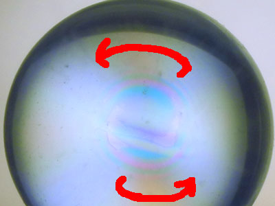 左巻き水晶