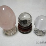 「透明結晶石」と「半透明結晶石」